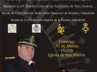 """I Certamen de bandas """"In Memoriam"""" Goyo Sebastián Almena"""