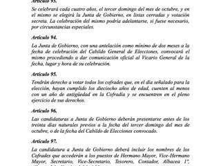 NORMAS QUE RIGEN EL CABILDO DE ELECCIONES