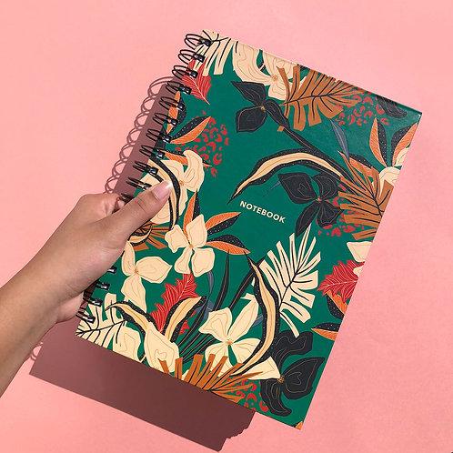 Caderno Flora