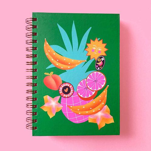 Caderno Frutado