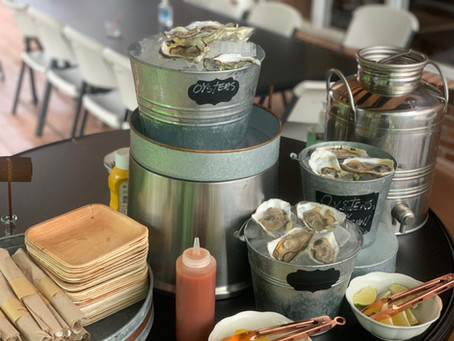 Hooked on Clambakes... Venue 104 Shucks Another One...