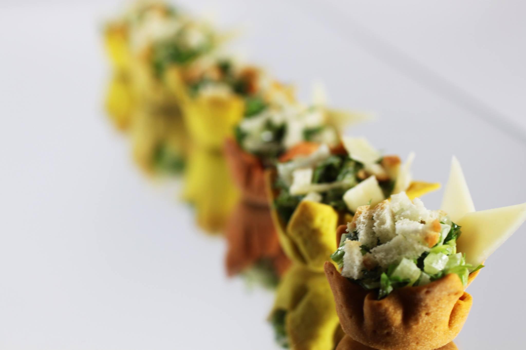 Bite Size Caesar Salad