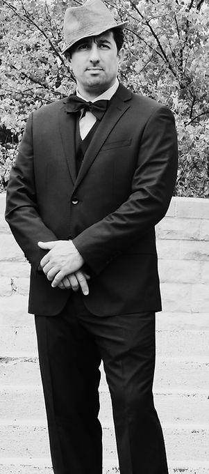A picture of Chef Franco Vitella standing ourside