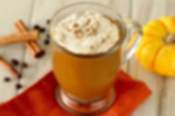 pumpkin spice collagen protein coffee