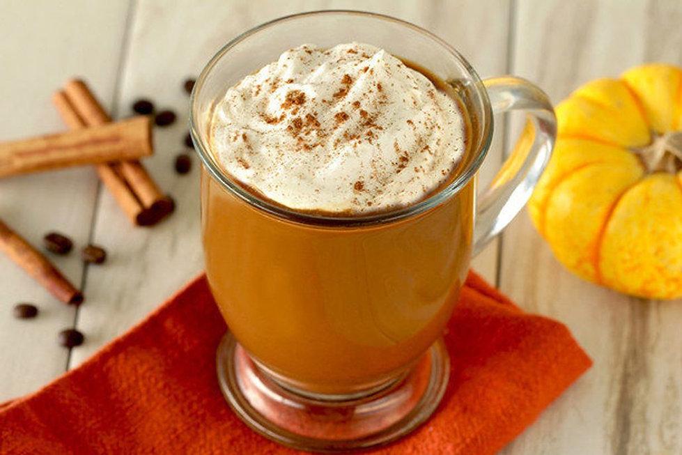 pumpkin spice collagen protein coffee