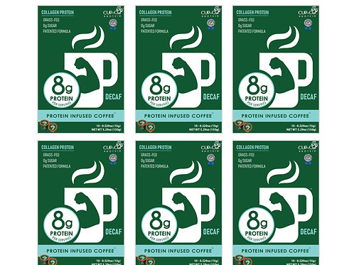 CUP-O Protein Infused Decaf Coffee™ - 60 count
