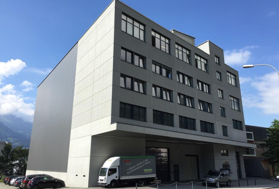 Gewerbegebäude Balzers