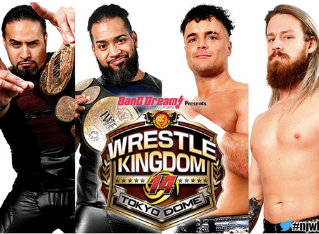NJPW Wrestle Kingdom 14 Night 1 Championship Winners And Losers