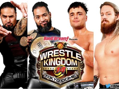 NJPW Wrestle Kingdom 14 Night 1 Championship Winners And Losers