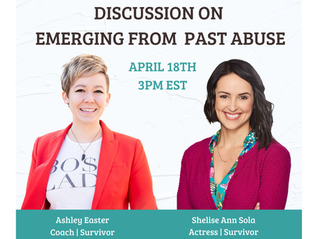 RECORDING: Emerging from Abuse with Ashley Easter