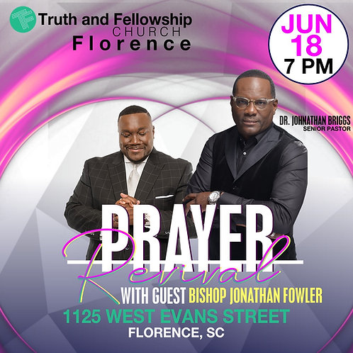Prayer Revival with Bishop Jonathan Fowler