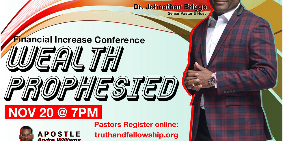 Wealth Prophesied- 2020 Financial Increase Conference