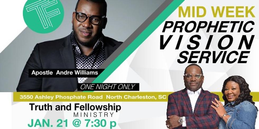 Mid Week Prophetic Vision Service