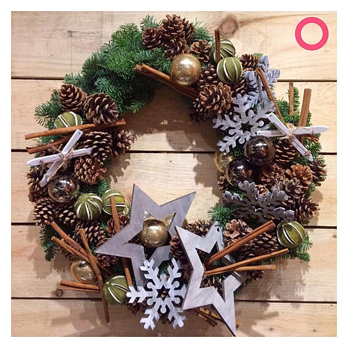 Cinnimon Wreath