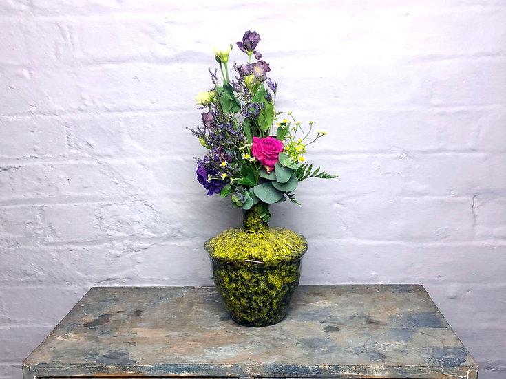 """Vase """"Organic"""" Ceramic"""