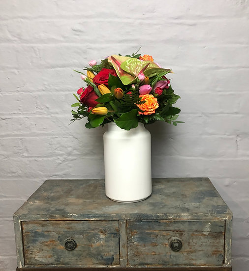 """Vase """"Lausanne""""White"""