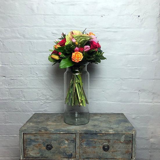 "Eco Vase ""Fles"" Glass"