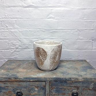 Leaf pot gold vase 17 cm _ 17cm_45_01727