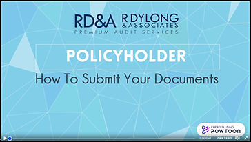 How to upload your documents as policyholder.