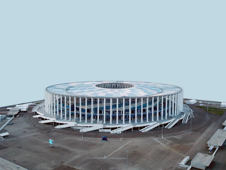 Стадион. Н. Новгород