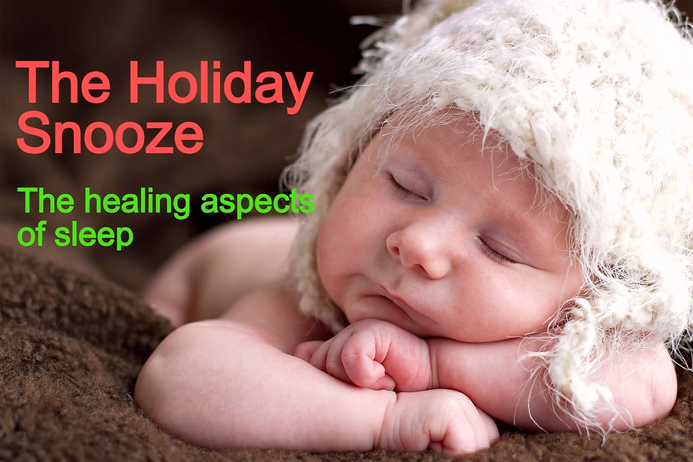 The healing aspects of sleep.
