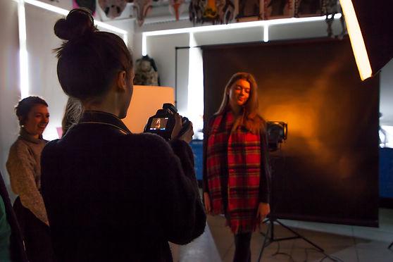 Studio lighting workshop for schools