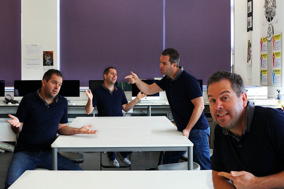 Teacher training day in Photoshop