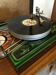 Limited edition custom turntable with tonearm