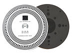 Record Mat, stroboscope disc