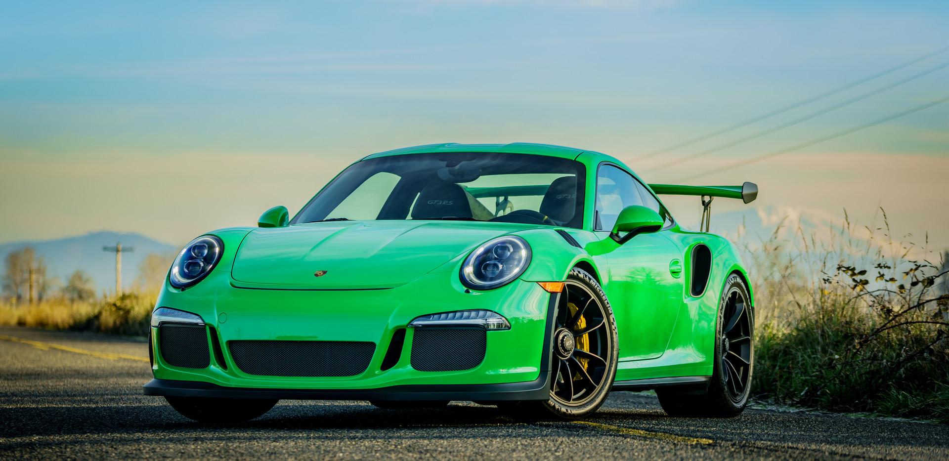 The Image Engine Porsche GT3RS