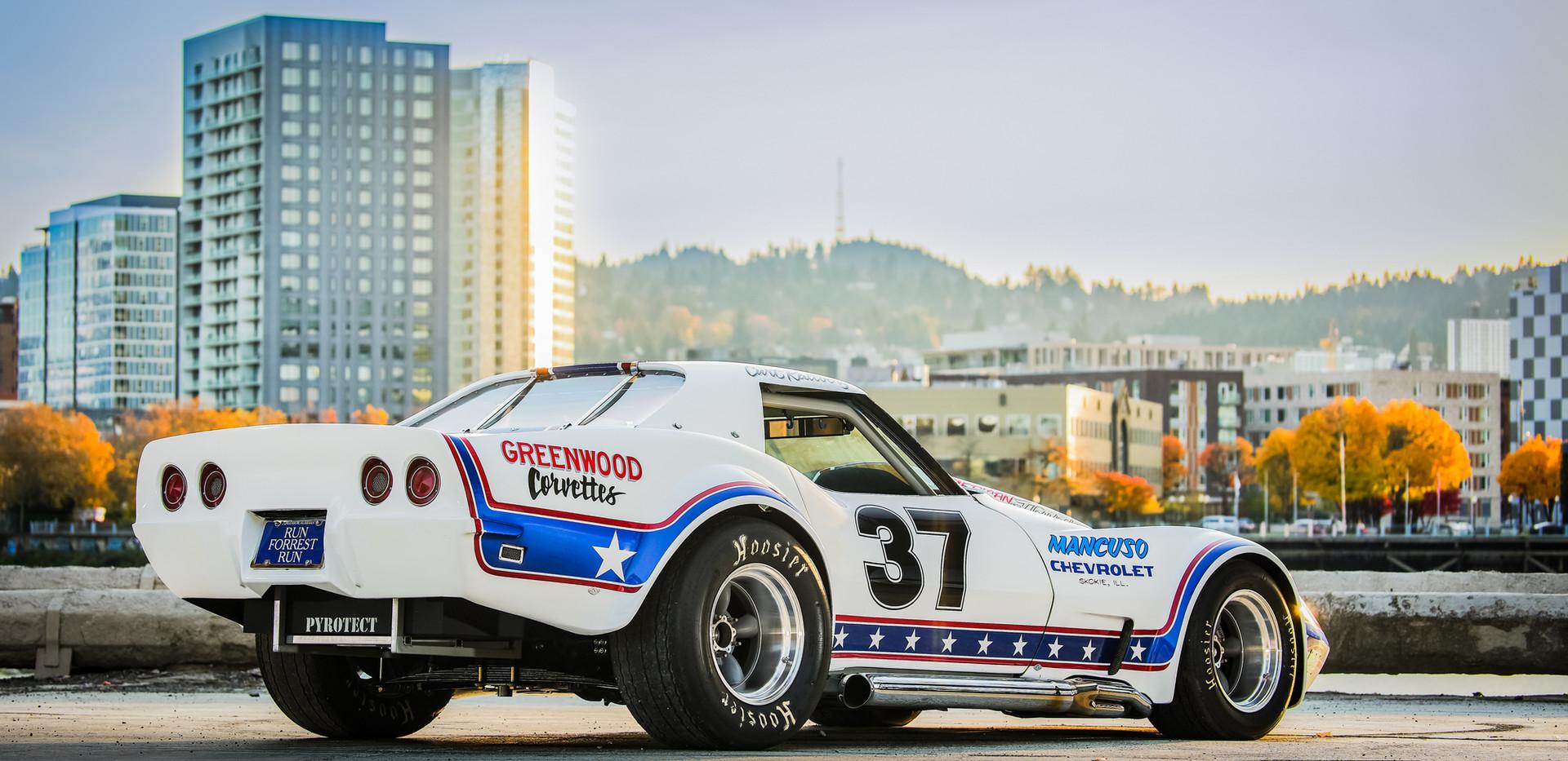 The Image Engine Vintage Racing Corvette