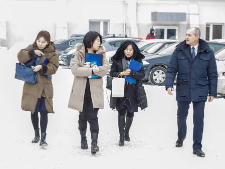 ЮУПСК «ПЛАНАР» посетила делегация Посольства Республики Корея