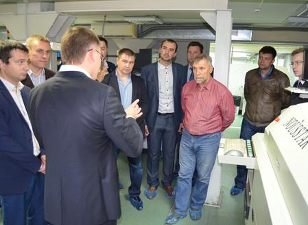 ЮУПСК «ПЛАНАР» принял участников бизнес-миссии Центра подбора поставщиков