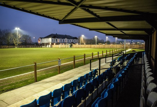 Pathway Sports Home Football Ground with New Stand