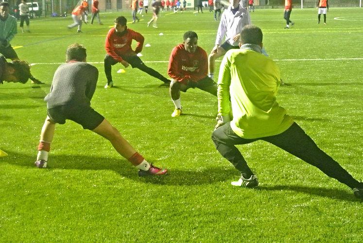 Pathway Sports Football Team train 3 times a week