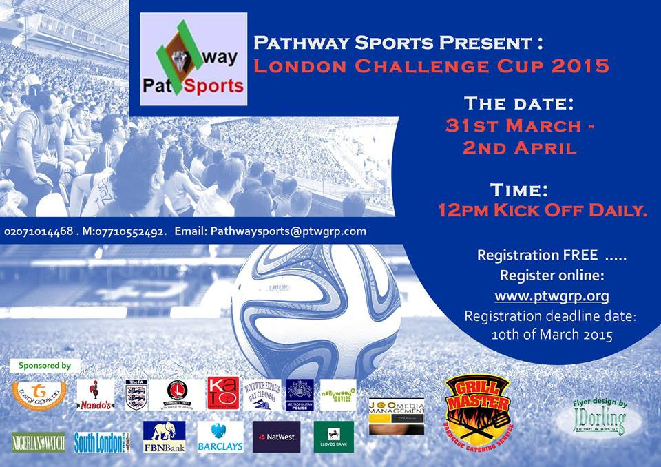 Pathway Sports introduces the London City Challenge Cup