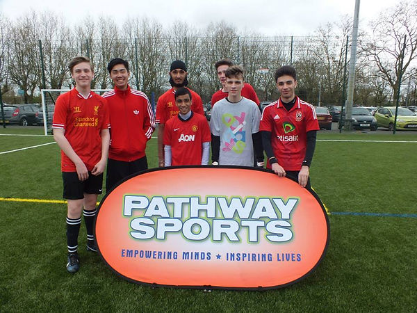 Pathway Sports offer training sessions to everyone from any background to join and improve themselves as a person and sportsman/sportswoman