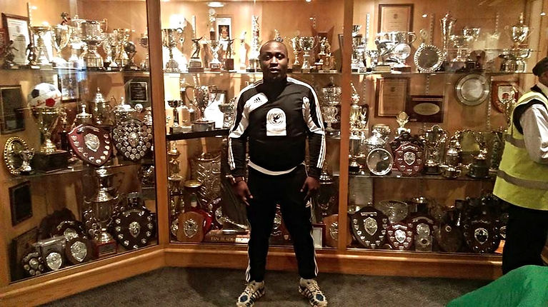 David Doherty Founder of Pathway Sports and Team Nigeria UK both Football based Academies