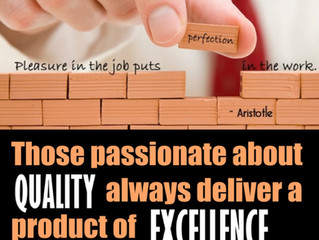 Passionate about Quality
