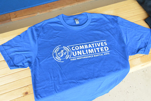 Combatives Unlimited - School T-shirt (BLUE)