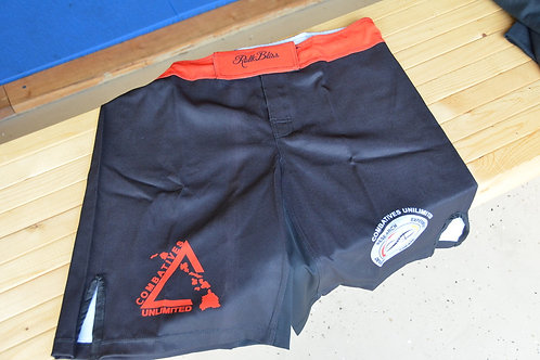 Combatives Unlimited - Roll Bliss Shorts (BLACK)