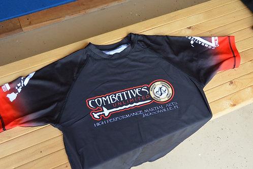 Combatives Unlimited - Rashguard (BLACK)