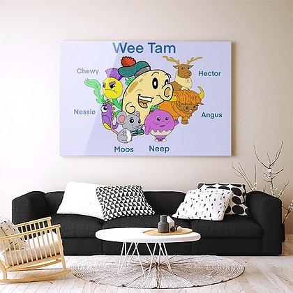 Wee Tam Wall Art (40x30cm)