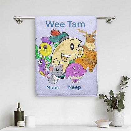 Wee Tam Bath Towel