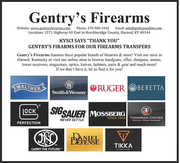 2021 Fundraiser - Ad Gentry's Firearms.p