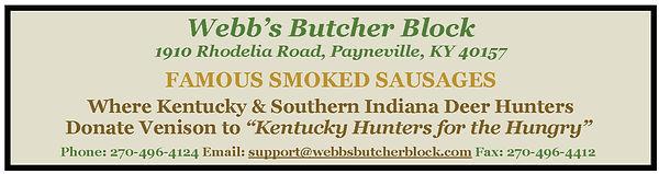 2020 Fundraiser - Ad - Webbs Butcher Blo
