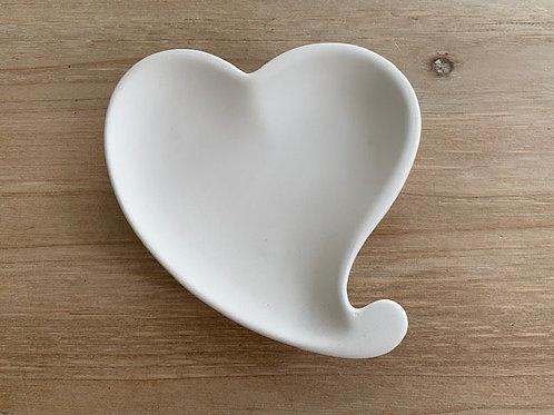 Assiette coeur