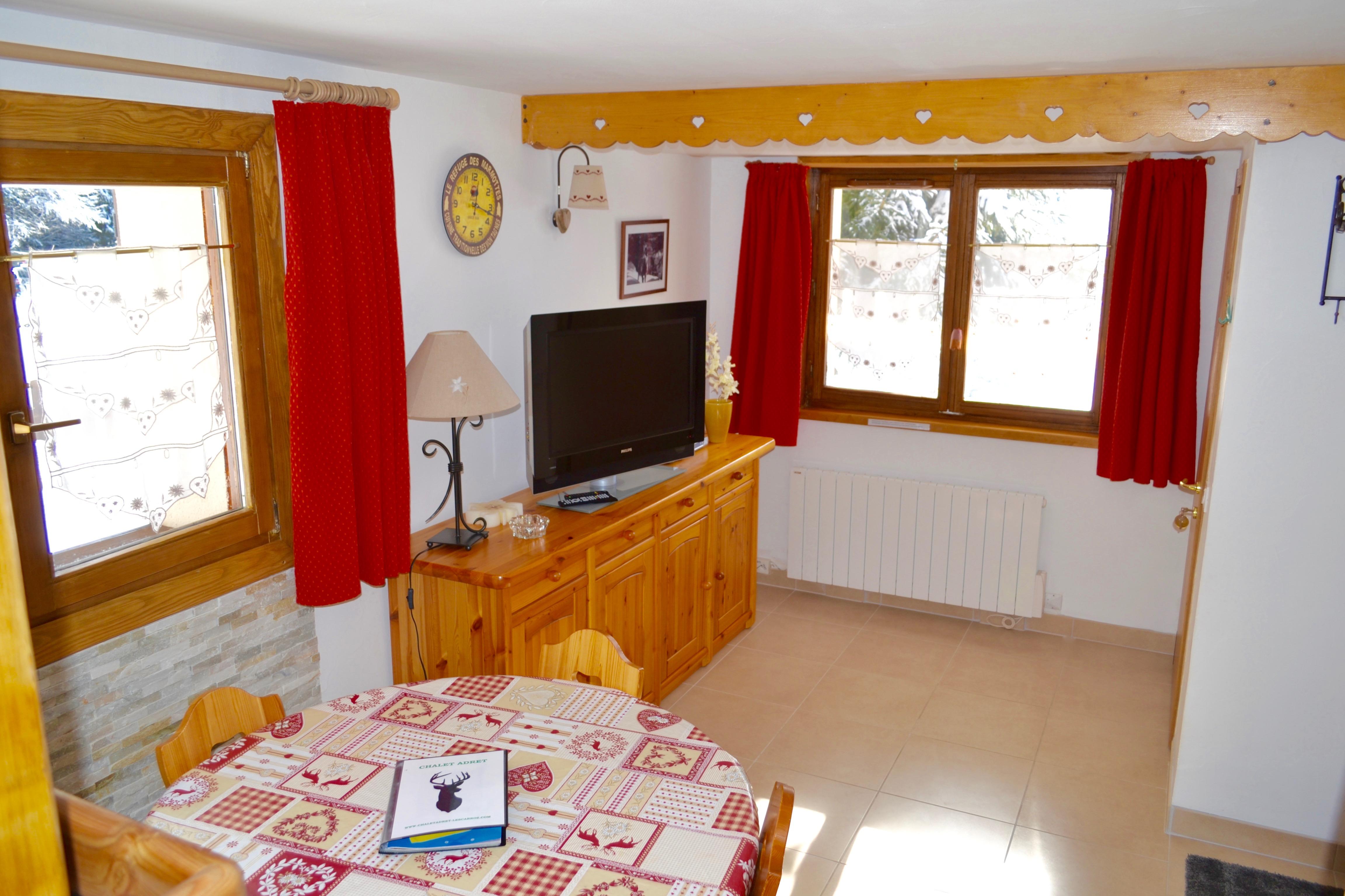 Les Carroz Chalet Apartment Let