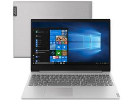 """Notebook Lenovo Ideapad S145 82DJ0003BR Intel Core- i5 8GB 256GB SSD LCD 15.6"""" HD Windows 10"""