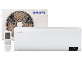 "Ar-condicionado Split Samsung Inverter 9.000 BTUs ""Quente e Frio"" Wind Free AR09TSHCBWKNAZ"